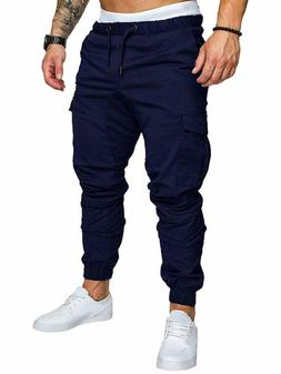 Sweatyrocks Men'S Casual Slim Fit Joggers Sweatpants Drawstr