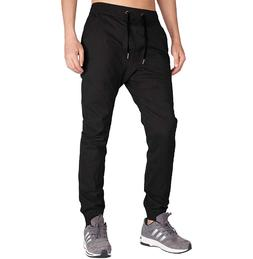 Italy Morn Men's Chino Jogger Pants Black Size S NEW WITH TA