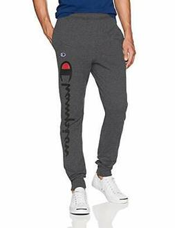 Champion Men's Classic Jersey Graphic Jogger Solid Casual Co