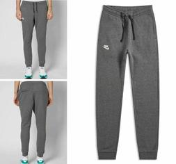 Nike Men's Club Fleece Jogger Pants Size Large Gray White Sp