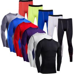 Men's Compression Under Base Layer T Shirt Jogging Thermal S