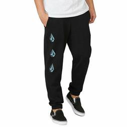 Volcom Men's Deadly Stones Pants Black Clothing Apparel Jogg