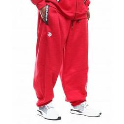 Rocawear Men's Equipment Red Jogger Sweatpants Big and Tall