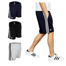 Adidas Men's Essential Logo Shorts Athletic Gym French Terry