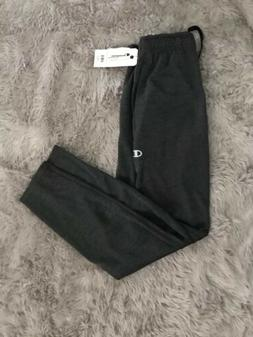 Champion Men's Gray Ankle Zipper Joggers Side Pocket Athleti