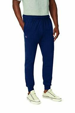 Champion Men's Jersey Jogger, Navy, M