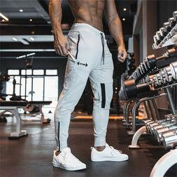 Butz Men's Pants Fitness Workout Training Joggers Gym Camouf