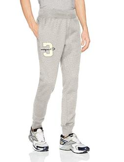 Champion LIFE Men's Reverse Weave Jogger, Oxford Gray Script