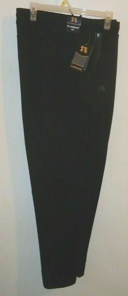 Men's Russell Training Fit Athletic Slim Fit Pants Gym Black
