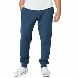 Volcom Men's Single Stone Fleece Pants Smokey Blue Clothing