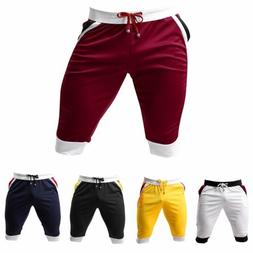 Men's Sport Gym Jogger Casual Shorts Pants Trousers Running