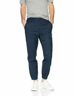 Amazon Essentials Men's Straight-Fit Jogger Pant, Navy, X-Sm