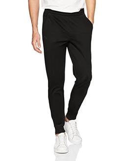 adidas Men's Team Issue Fleece Jogger, Black Melange, X-Larg
