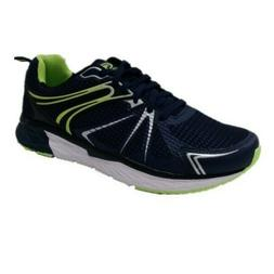 ATHLETIC WORKS Men's Tech Jogger Athletic Shoes - NAVY BLUE/