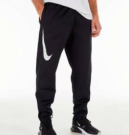 Men's Nike Therma Pants Black Fitted Athlete Sweatpants Jogg