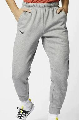 Men's Nike Therma Tapered Pants Training Grey Dri Fit S Ther
