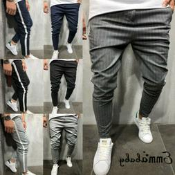 Men's Twill Jogger Pants Urban Hip Hop Harem Casual Trousers