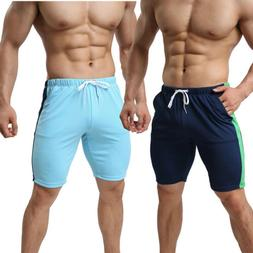 Men Sport Gym Jogger Casual Shorts Pants Trousers Run Athlet