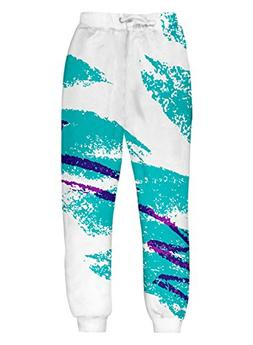 Uideazone Men Women Jazz It Up Jogger Pants Casual Graphic S