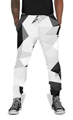 Men Womens 3D Printed Novelty Jogger Pants Trousers Casual S