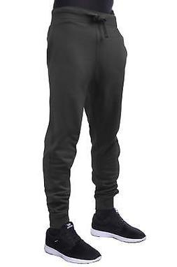 Hat and Beyond Mens Active Fleece Jogger Pants Casual Urban