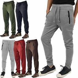 Mens Zipper Pocket Jogger Pants