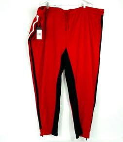 Mens Size 5X Sweatpants Joggers Red Cherry Sean John Striped
