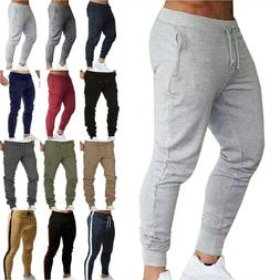 Mens Sport Fitness Joggers Pants Sweatpants Jogging Bottoms