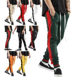 Mens Track Pants Casual Sports Jogging Bottoms Joggers Gym S