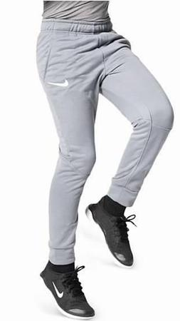 NEW NIKE Boy's GRAY Dri Fit Slim Athletic Pant Pants Joggers