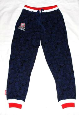 NEW Marvel Boy's x iMG Worlds Captain America Jogger Pant Si
