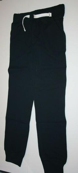 NEW Carter's Boys Black French Terry Jogger Pants NWT 6 7 8