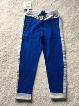 NEW Hanna Andersson Girls Blue & Gray 2 Tone Sweat Pants Jog