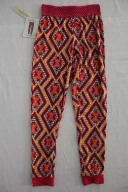 NEW Girls Soft Jogger Pants Size Small 6 - 6X Pink Yellow Cr