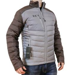 NEW Under Armour ISO Down Jacket Steel Grey/Charcoal Men's S