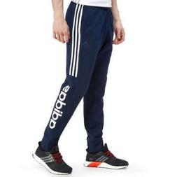 New Adidas SMU Linear Fleece Men's Slim Fit Skinny Fit Nav