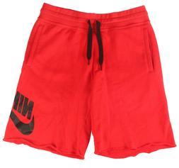 *New* Nike Sportswear Men's Size Large Red Cotton Terry Jogg