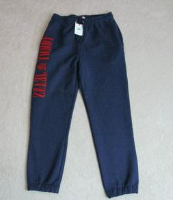 NEW Tommy Hilfiger Sweat Pants Adult Large Red Blue Spell Ou