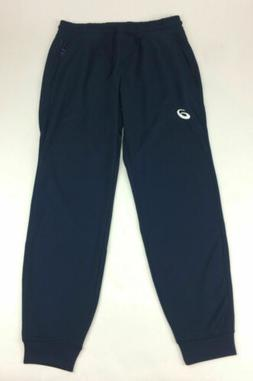 New Asics Terry Cuffed Jogger Training Pant Men's Large Navy