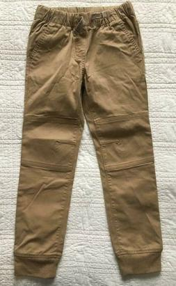 New Toddler Boys Khaki Jogger Style Pants With Stretch 5T