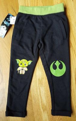 New STAR WARS YODA Toddler Baby Boys Size 12 mo Knee Patch J