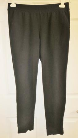 NWOT Womens Denim & Co. Active Regular Jogger Pants with Zip