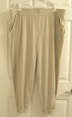 nwot womens tall cozy knit ribbed jogger