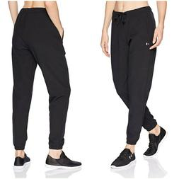 NWT $60 UNDER ARMOUR Women's UA Easy Studio Pants Joggers Bl