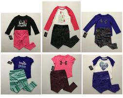 Under Armour NWT baby Girls Outfit Joggers Leggings Top 12 1