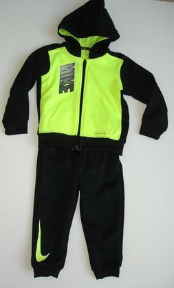 NWT Boy size 24mth - Nike Outfit in Black and Neon - Jogger