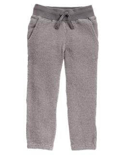 NWT Gymboree Boys Pull on Pants Sweatpants Knit Jogger Gray