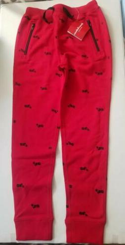 NWT HANNA ANDERSON BOYS PANTS JERSEY JOGGERS SIZE 140 US 10