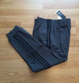 NWT Men's Adidas Athletic Active Pants 3s Gray XL Slim Fit J