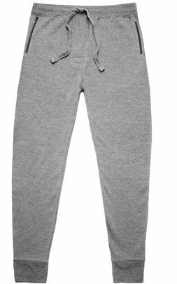 NWT - BASIC OUTFITTERS Men's RIBBED CUFF FLEECE ZIP Heather